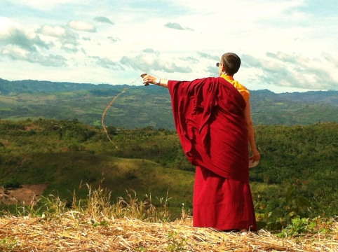 LKC Consacration of Peru stupa Land
